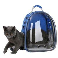Taşınabilir Şeffaf Pet Köpek Kitty Yavru Sırt Çantası Taşıyıcı Açık Seyahat Çantası Kediler Taşıyıcı Malzemeleri Kedi Taşıyıcıları, Kasalar Evleri