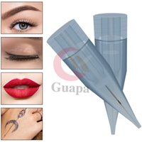 Newest Anti Backflow Permanent Makeup Tattoo Needles Eyebrow Cartridge Needle with membrane for tattoo brows lips eyeliner