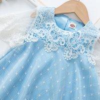 Девушка Платья Новый Ледяной Снег 2 Принцесса Девушки с длинным рукавом Aisha Queen Performance Детская юбка