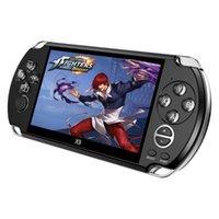 Vidéo Retro Game Console X9 Psvita Portable Lecteur de poche pour PSP Jeux 5.0 pouces Télévision à écran avec caméra MP3 Caméra Portable Joueurs