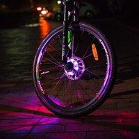 Bike Lights Bicycle LED Light Wheel Waterproof Warning Cycling Hub Waterproof, General, No Speed Requirements