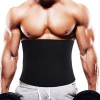 Men's Body Shapers 5XL 6XL Slim Waist Trainer Shaper Men Neroprene Sauna Corset Cincher Shapewear Weight Loss Strap Modeling Belt Girdle