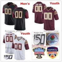 Personalizzato NCAA Football College 3 Cam Akers Jersey Florida State Seminoles 2 Deion Sanders 23 Hamsah Nasirildeen 12 Deondre Francois 11 Nyqwan Murray