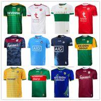 2021 GA Kerry Tyrone Mayo Jerseys Cork Meath Galway Dublin Ath Cliath Gaillimh Tipperary Ciobubraio Arann Rugby Camisas