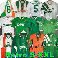 1992 93 أيرلندا ريترو لكرة القدم جيرسي 1990 هوم كلاسيك جيرسي خمر إيرلندي شيدي 1994 1995 1996