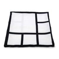 Sublimation Kissenbezug 6 Panels Kissenbezüge Wärmeübertragung Drucken Kissenbezüge Kundenspezifisches Geschenk DIY Blanks Sofa Cover GWE7017