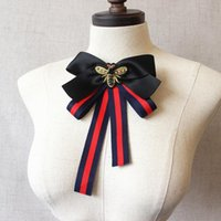 Coréen hommes hommes multicouche bowknot dames tissu nœud nœud papillon haut de gamme rideaux strass broches et broches pour femmes accessoires cravates de cou