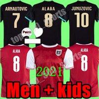 2021 Austria Man + Kids Kit 축구 유니폼 21 22 David Alaba Award ArnaUtovic Sabitzer Grillitsch Camisetas 축구 셔츠