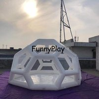 Inflatable Clear Bubble Tent Camping Dome Trade Show Travel Beach El House Pvc Yurt Tents And Shelters