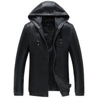 Men's Leather & Faux 100%Real Sheepskin Coat Genuine Jacket Short Slim For Men Outerwear Jaqueta De Couro YXG1669A MF041