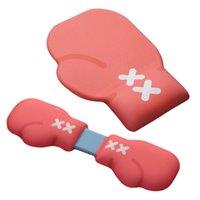 Musmattor Handledsstöd 2021 Handstöd Pad Red Boxing Glove Design för mekaniskt spel tangentbord