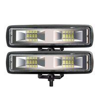 Working Light 1pc LED Headlights 18W12V16LED Work Bar Flood Spot Lights Driving Waterproof Lamp Offroad Car Truck ATV SUV