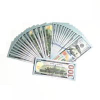 Movie props party game dollar bill counterfeit currency 20 50 100 face value of US dollars fake money toy gift 100pcs pack