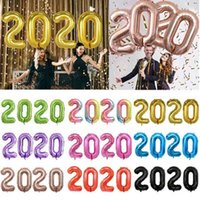 40 inç Büyük Numarası Folyo Balonlar 10 Renkler Dijital 0-9 Alüminyum Film Balon Doğum Günü Düğün Parti Dekor Globos Çocuk Oyuncakları Malzemeleri BC BH3700