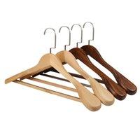 Прачечная сумка широкое плечо деревянные вешалки из цельного дерева костюм одежды шкаф для сушки бытовой спальня стеллаж