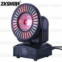 80% Discount 4PCS Lot 60W RGBW LED Sunflower Beam Moving Head Light DMX for DJ Disco Party Nightclub Show Event Hire Stage Lighting Projector
