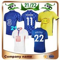 20/21 Abraham Pulisic Home Soccer Jersey 21/22 Away Willian Kante Ziyech Camiseta Giroud Mount Lampard Futebol Uniforme