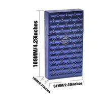 Cigarette Cases 109MM*61MM*18MM For Thin s Holder Hard Plastic Tobacco Box Case Cover 263 V2 KG1X