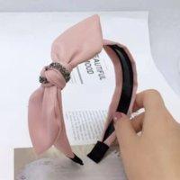 1 LJW Korewide Kenar Tavşan Kulak Hoop Dantel Bandı TU ER Bant Ilmek Saç Süsleme Düğüm Firkete Net Dantel Bantlar Headdress
