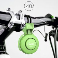 Bike Horns 280mAh Portable Cycling Part Handlebar Ring Bell Volume Adjustable Mountain Horn For Electric Scooter Bicycle