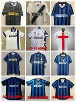2008 2009 10 11 12 Milito J.Zanetti Inter Ретро Футбол Джетки 97 98 99 Djorkaeff Sneijder Milano Classic Maglia 2002 2003 Старинный футбольный джерси