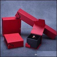 Коробки дисплея ювелирные изделия высокое качество сердца ювелирные изделия коробка для ожерелья серьги кольцо браслет браслет браслет подвеска упаковки выражать мою любовь