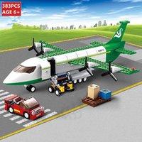 Mini formato City Building Set Air Bus Airplane Blocks Modello Aerei Aerei Aerei Figure fai da te Mattoni Giocattoli per bambini 1008