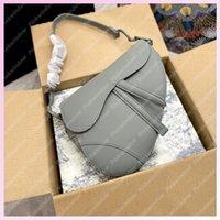 2021 Mode Satteltasche Womens Umhängetaschen Crossbody Frauen Luxurys Designer Rucksack Totes Ultramatte Kalbsleder Geldbörsen 2105181l