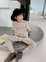 Kids boys Girls Sportsuits Autumn Baby Boy Cotton Hooded Hoodie + Pants 2pcs Sets Casual Children's Clothes