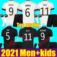 ألمانيا 2021 كرة القدم جيرسي المنزل بعيدا أطقم هملاء كتروس دروس دروسر ريوس مولر غست كيميش جوندوجان 20 21 كرة القدم قميص زي الرجال الاطفال عدة