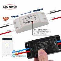 Smart Home Control Ménage Équipement électrique Approvisionnement, Module de commutateur Light WiFi pour le travail avec Alexa Google