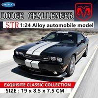 Saldare 124 Dodge Dodge Challenger 2012 Auto Lega Modello Car Modello Simulazione Decorazione Auto Collezione Regalo Giocattolo Die Casting Model Boy