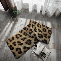 Carpets Imitation Fur Door Mat Non-Slip Bathroom Kitchen Carpet Entry Doormat Entrance Welcome Rug 3d Printing Area Design