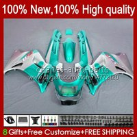 Kawasaki Cyan Silvery Ninja Zzr-250 1990 1994 1992 1993 1994 1995 96 97 98 99 Bodywork 54HC.87 ZZR250 CC ZZR 250 90 91 92 93 94 95 1996 1997 1998 1999 Fairing
