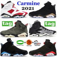 جديد DMP 2020 السامي 6 6S كرة السلة أحذية أحذية الرجال هير أوريغون البط غسلها ترافيس السوداء سكوتس أحذية رياضية أحذية رياضية الدنيم الولايات المتحدة 7-13