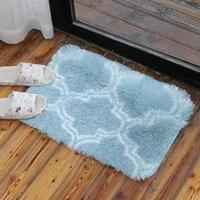Carpets Carpet Home Textile & Garden Pink Rose Tea Table Living Room Bedroom Floor Mat Polyester Machine Made 50*80cm