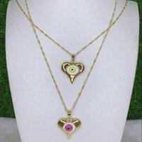 Pendant Necklaces 10PCS, Fashion Heart EYE Pendants For Women Big EVIL Simple GOLD Multilayer Choker Necklace Wedding Jewelry