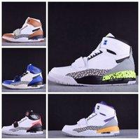 2019 Nuova versione Don C X Jumpman Legacy 312 Mens Scarpe da basket da uomo Knicks Lakers Pistoni Athletic Sport Sneakers Salto Man Designers Scarpers