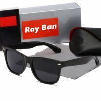 Hohe Qualität Männer Frauen Polarisierte Sonnenbrille Vintage Pilot Sonnenbrille UV400 mit Kasten und Fall 140