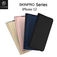 Dux Ducis Skin Pro Series فليب محفظة جلدية الحالات الهاتف الخليوي مع فتحات بطاقة لفون 11 12 × XR 7 8Plus