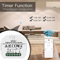 Smart Home Control 1pc Tuya ZigBee +RF Wireless Switch Voice Wall Light Switches Module Remote Work With Amazon Alexa Google App