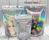 Stand Up Food Storage Bag Aluminum Foil Waterproof Dustproof Pouch for Edible Runtz Backpack Boyz Coffee Nuts Cookie Trrlli Trolli Packing Maylar bags