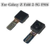 5 Adet Orijinal Ön Kamera Modülü Flex Kabloları Değiştirme Samsung Galaxy Z Folld 2 5g F916 F9160 W21 Bakan Küçük Kamera Flex