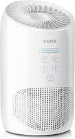 PABERU HEPA تنقية الهواء لدخان الهواء للمنزل مع سبونج العطر، نظام الترشيح ثلاث مراحل، 100٪ الأوزون الحرة، قفل مجموعة، يلغي الدخان، الغبار، حبوب اللقاح، pet pander، أبيض