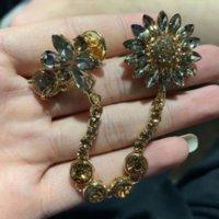 GL2 Amashi 같은 핀 합금 다이아몬드 스타 꿀벌 브로치 여성 브로치 Pindiamond 의류 액세서리