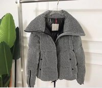 Women Stand Collar Down Coat Outdoor Duck Feather Jacket Outerwear Thick Windproof Soft Warm Parkas Gray size 123