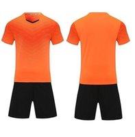 Leerer Fußball-Jersey-Uniform personalisierte Team-Shirts mit Shorts-gedruckten Designnamen und Nummer 216218