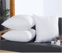 1 PC Wysoka Elastyczność Wypełniająca Poduszka Poduszka Biała Miękka PP Bawełna Do Poduszki samochodowe Poduszki Poduszki Home Textile 45 * 45 cm Pillowcore