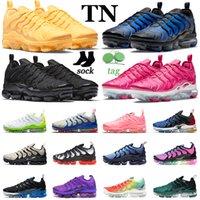 air vapormax plus tn vapor max tns احذية الجري للرجال والنساء Bubblegum Yolk Fresh Atlanta USA Mens Trainers Sports Sneakers