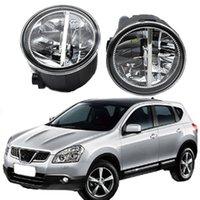 2 x Auto Styling Runde LED Nebelscheinwerfer für Nissan Qashqai (J11, J11_) Gelassenes Fahrzeug 2013